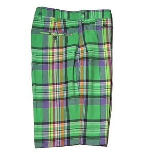 Polo Ralph Lauren Madras Shorts Men's Size 33